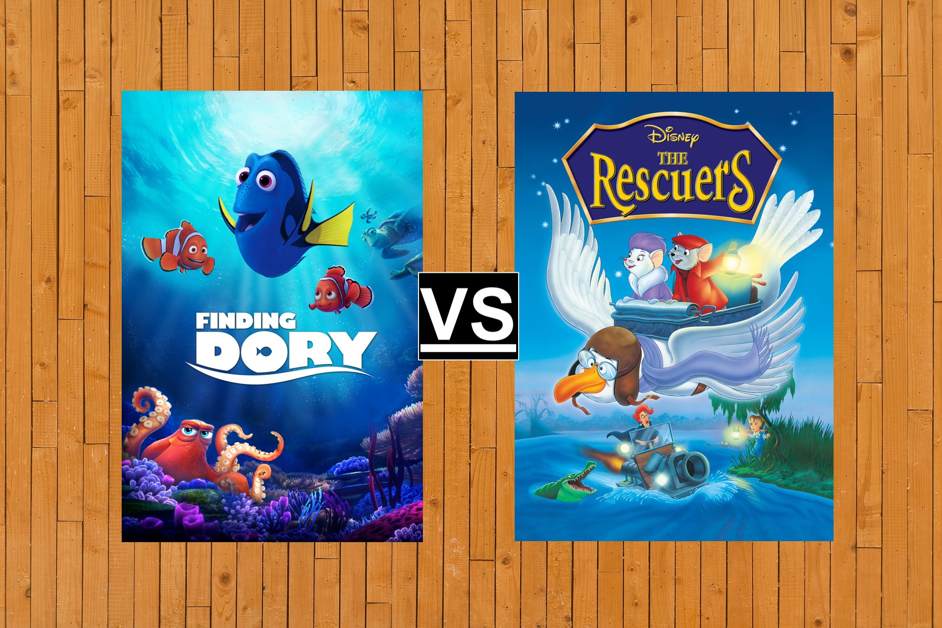 20 DISNEY BATTLES Finding Dory Vs Rescuers
